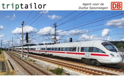 Triptailor is agent voor ticketverkoop van de Duitse Spoorwegen